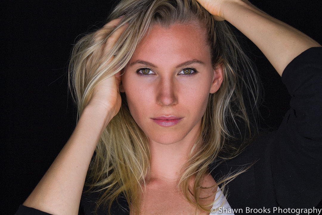 Headshot photo of Model by Shawn Brooks Photography